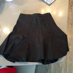 Parker highwaisted fit and flare skirt